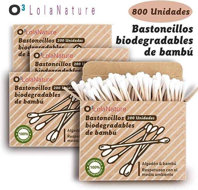 O³ Bastoncillos Ecologicos 800 Unidades | Bastoncillos ...