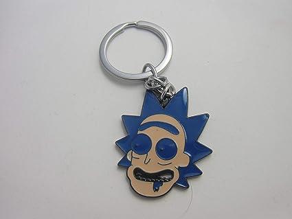 Rick&Morty Llavero Metal Cartoon Network Toon (Rick Face ...