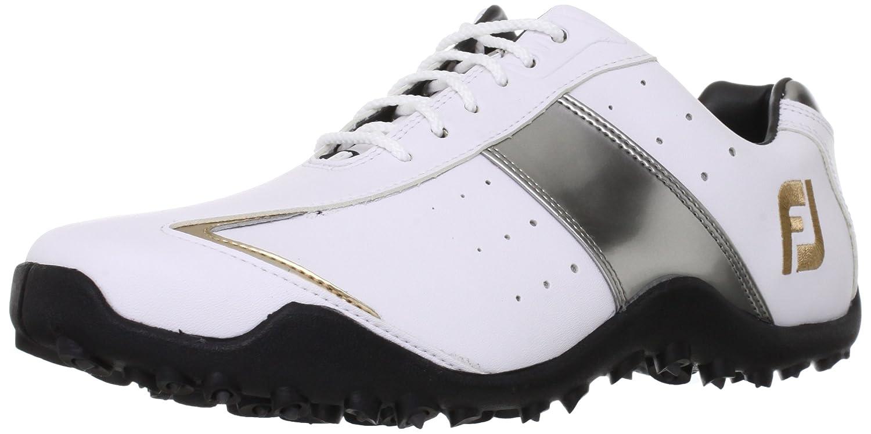 [フットジョイ] FootJoy ゴルフシューズ EXL SPIKELESS B00CI550M8  ホワイト/シルバー 27.0 cm 2E