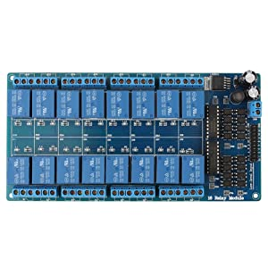 Network Ethernet Relay Controller Module Control Ethernet Control Module LAN WAN Network Web Server RJ45 Port+16Channel Relay Smart Home Remote Control