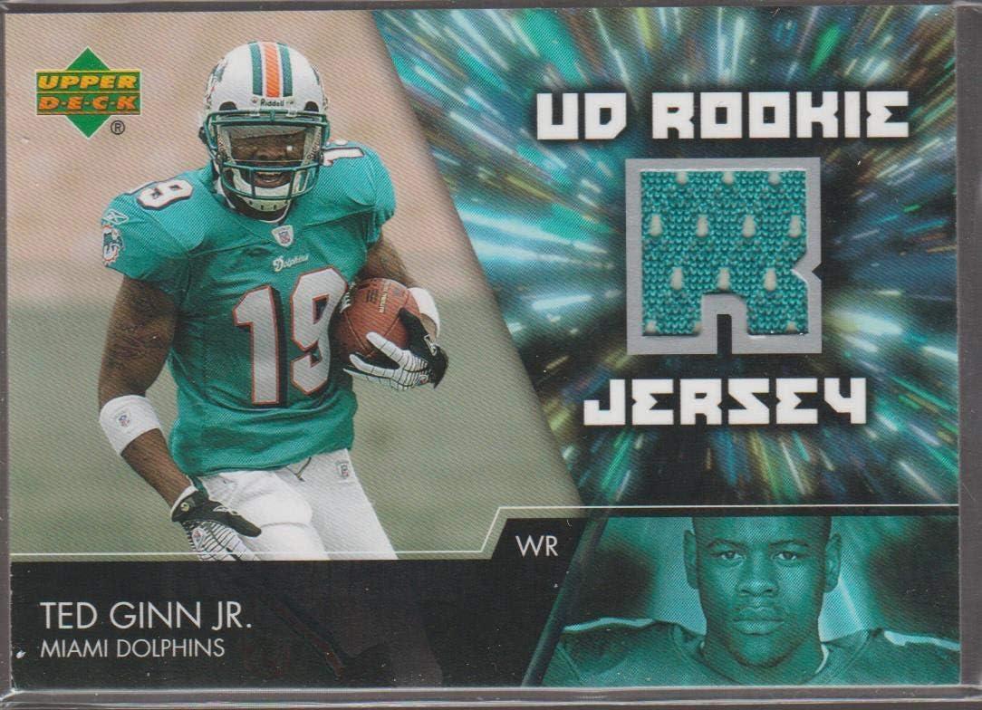 Amazon.com: 2007 Upper Deck Ted Ginn Jr. Dolphins Rookie Jersey ...