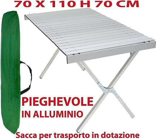 Tavolo In Alluminio Da Campeggio.Tavolo Tavolino Pieghevole In Alluminio Per Campeggio Casa Camper