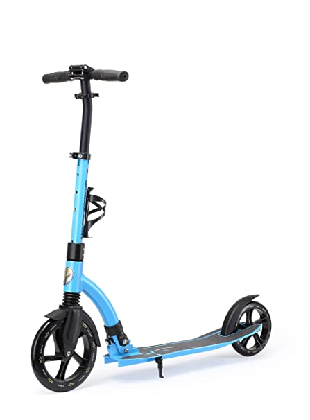 Star-Scooter Patinete 230mm Premium Big Wheel Plegable, para Adultos y niños Desde Aprox. 8 años Ultimate Edition