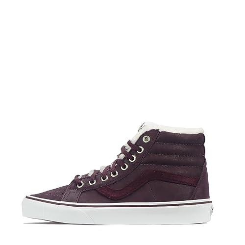 Vans VN0A2XSBPYI - Zapatillas de Cuero para Mujer Wine Tasting/Wine Tasting/White 41 EU, Color, Talla 40.5 EU: Amazon.es: Zapatos y complementos