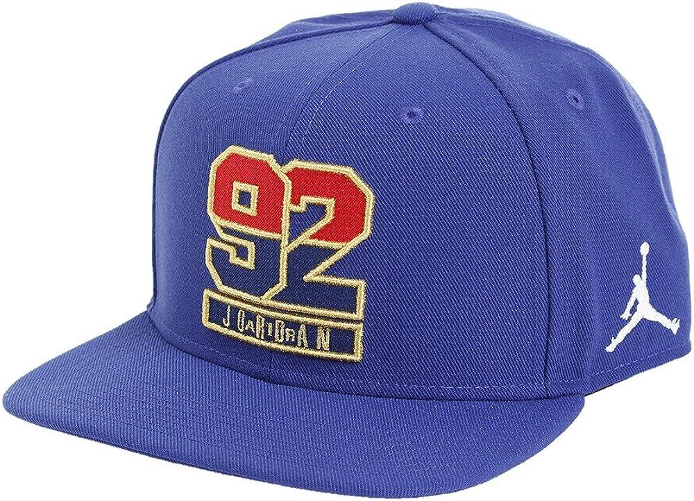 Nike Jordan 7 92 Snapback Gorra, Hombre, Azul (Deep Royal Blue ...