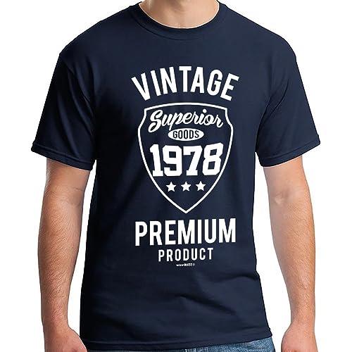 40th Birthday Gifts For Men Vintage Premium 1979 T Shirt