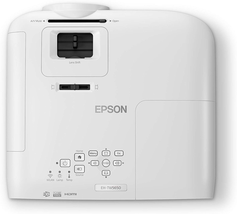 Epson Home Cinema EH-TW5650 Video - Proyector (2500 lúmenes ANSI ...