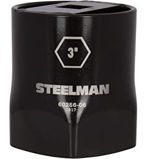 STEELMAN 60280-13 3-7//8-Inch 8-Point Locknut Socket 3//4-Inch Drive