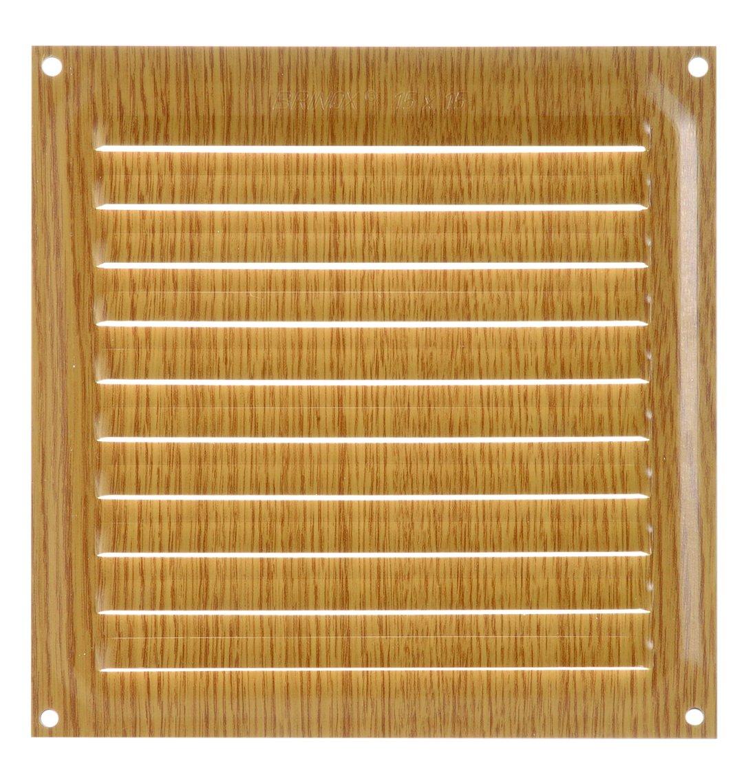 legno scuro 20/x 20/cm colore Brinox b70580z/ /Griglia Di Ventilazione