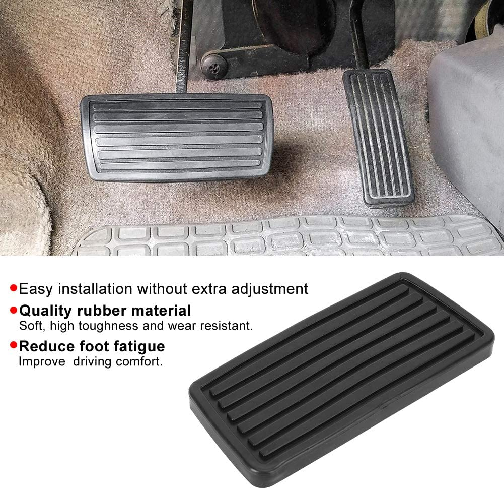 Clutch Accelerator Brake Pedal Pad Automatic Transmission Brake Pedal Pad 46545-S84-A81 Fits for Accord//CR-V//Civic Brake Pedal Cover