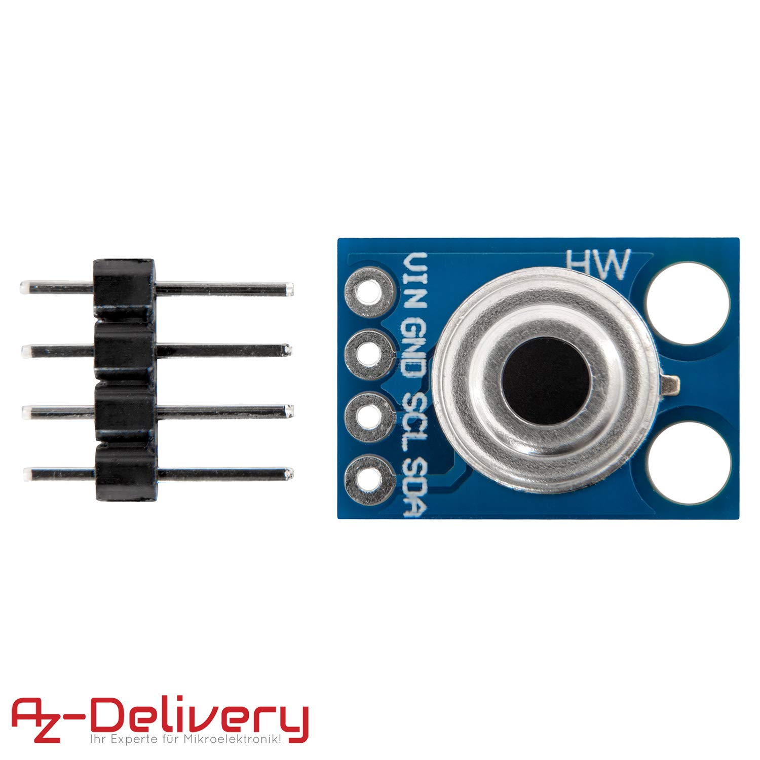 AZDelivery GY-906 MLX90614 Infrared Thermometer Module IR Temperature Sensor for Arduino including eBook