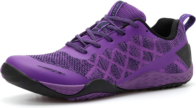 Barefoot /& Minimalist Shoe Zero Drop Sole WHITIN Womens Trail Runner