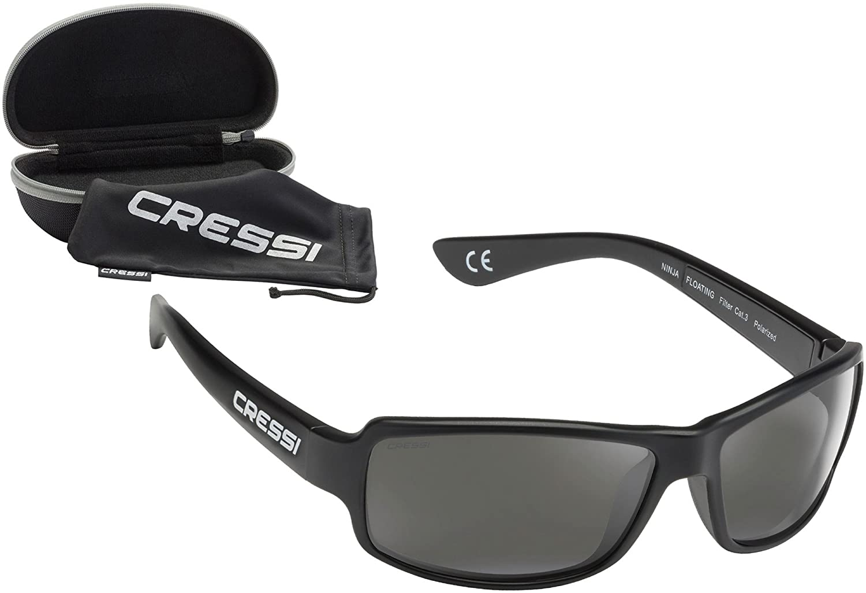 Cressi Ninja Floating Gafas de Sol, Unisex Adulto, Negro ...