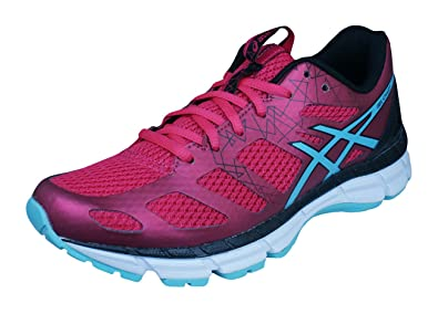brand new a1984 df5fc Asics Gel Chart 3 Femmes Cours Baskets Chaussures -Red-39
