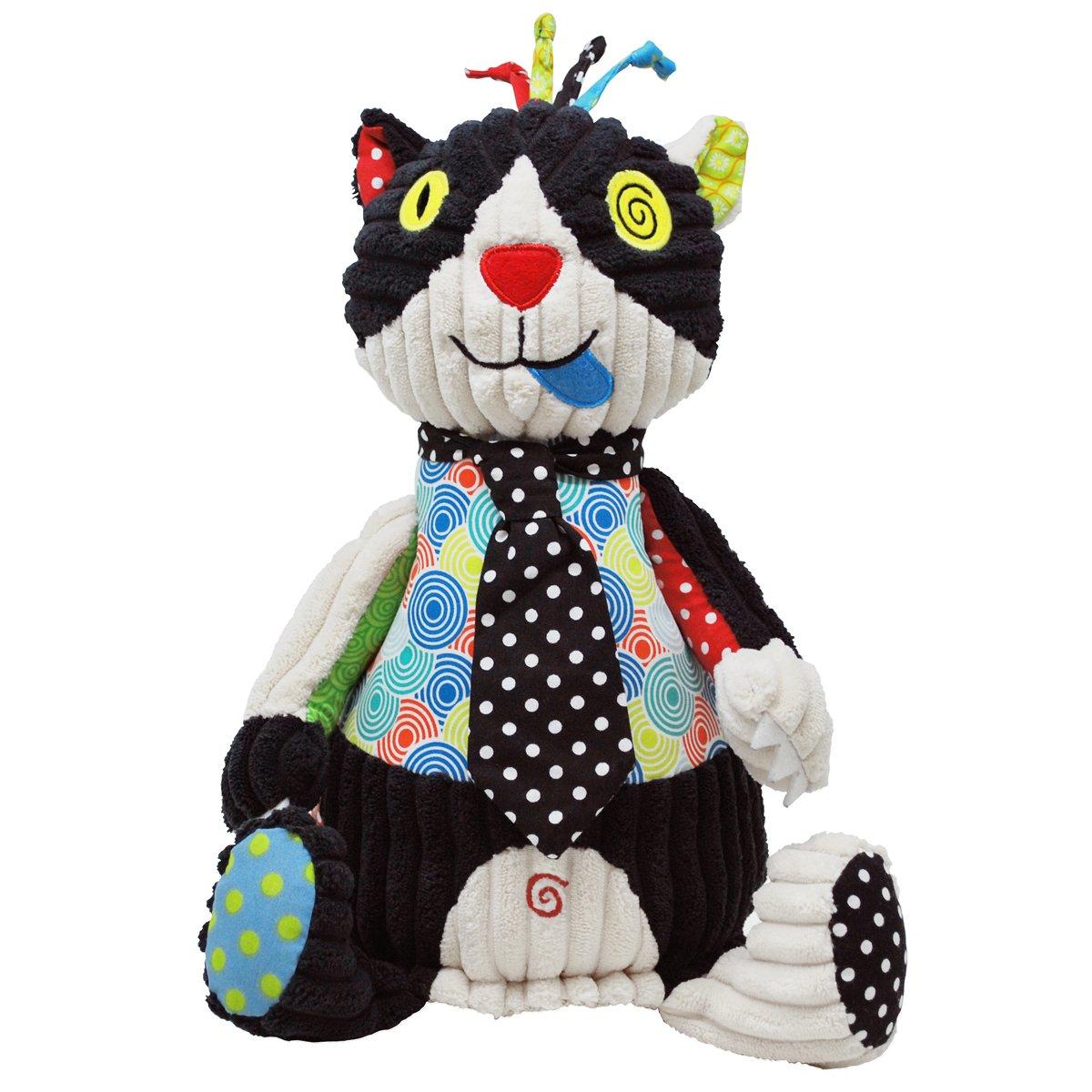 Les Deglingos Soft Toy, Charlos The Original Cat Cuckoo Ltd 36518