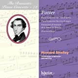 Cipriani Potter: Piano Concertos Nos 2 & 4 [Howard Shelley/ Tasmanian Symphony Orchestra; Howard Shelley] [Hyperion: CDA68151]