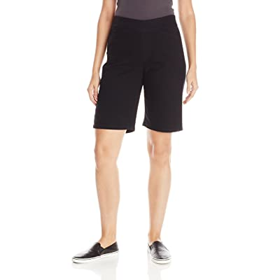 Chic Classic Collection Women's Relaxed Fit Flat Bermuda Short | Amazon.com