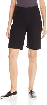 Chic Classic Collection Women's Relaxed Fit Flat Bermuda Short
