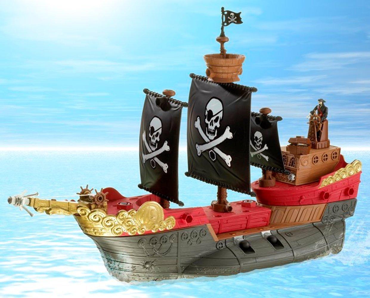 amazon com matchbox mega rig pirates ship toys u0026 games