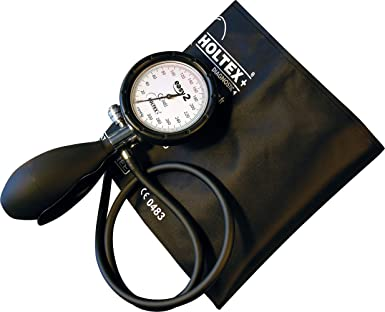 Holtex ds99320 Easy 2 – Tensiómetro, brazalete sin bolsillo, adulto, Negro