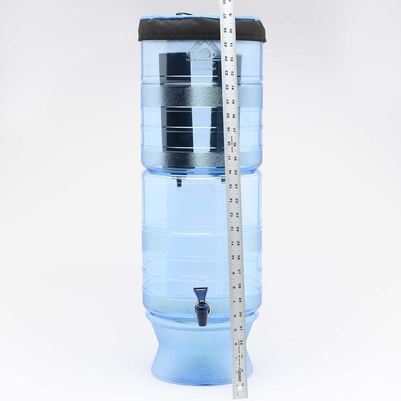 Berkey Light Water Filter System with 2 Black Berkey Filters BL4X2-BB