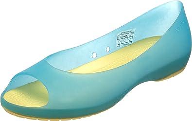 Amazon.com | Crocs Women's Carlie Flat