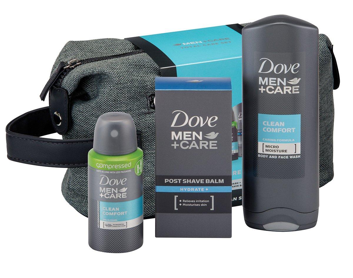 Dove Men + Care Total Care Wash Bag Gift Set Unilever 9150406