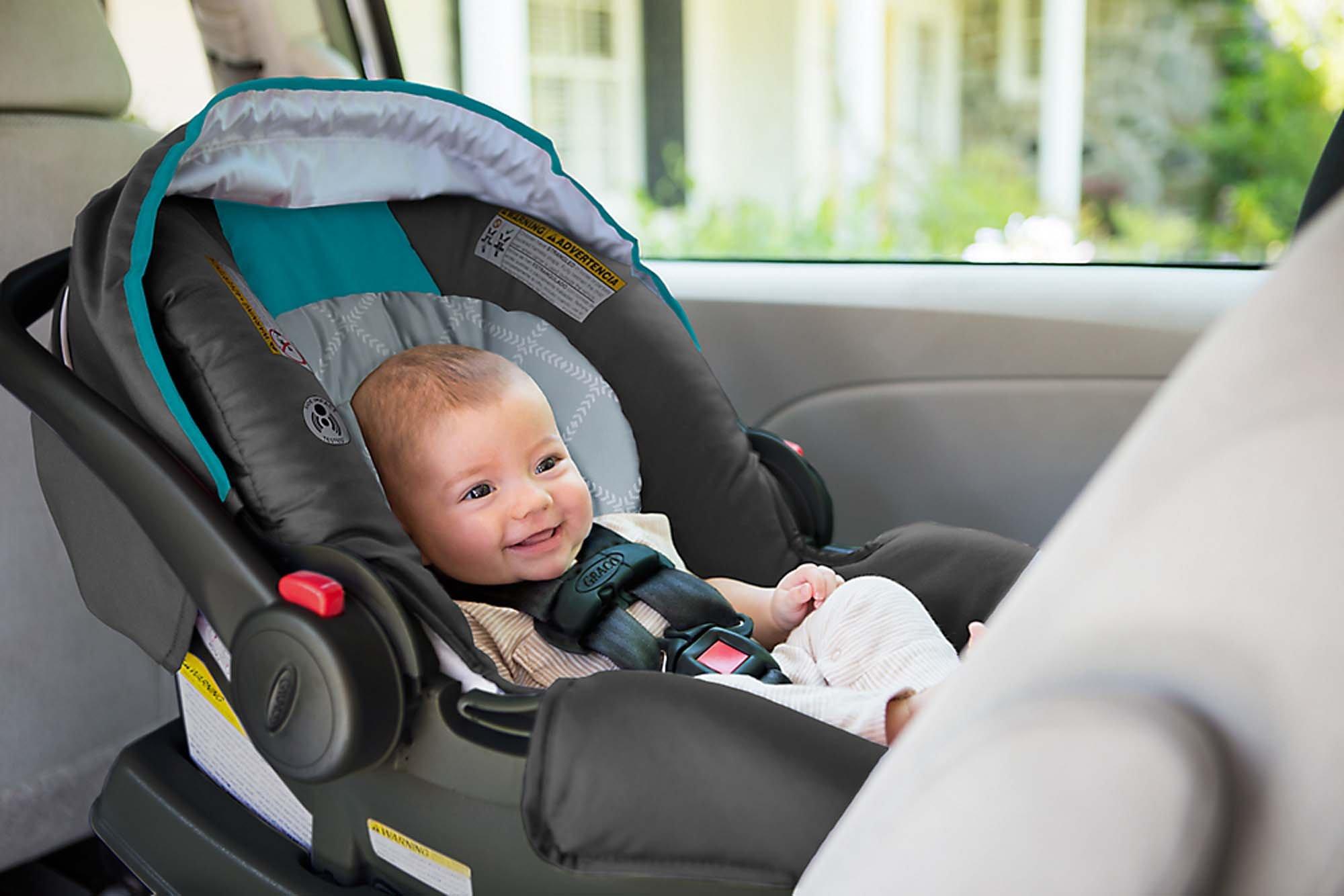 Graco SnugRide Click Connect 30 Infant Car Seat, Finch - 1965899 ...
