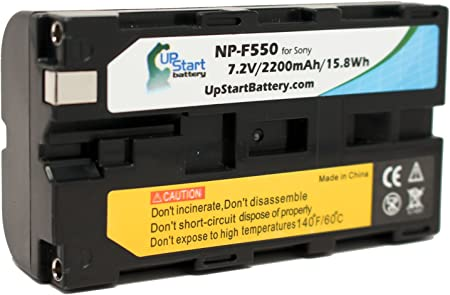 2x Original Genuine Sony NP-F550 InfoLithium Battery