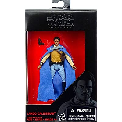 Star Wars, 2016 The Black Series, Lando Calrissian Exclusive Action Figure, 3.75 Inches: Toys & Games