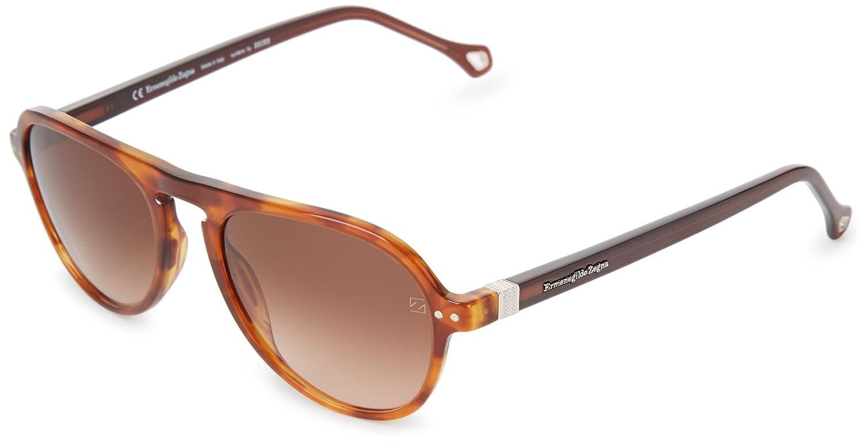 ea2c4b2c Ermenegildo Zegna Sunglasses SZ3624-782 Aviator Sunglasses,Havana ...