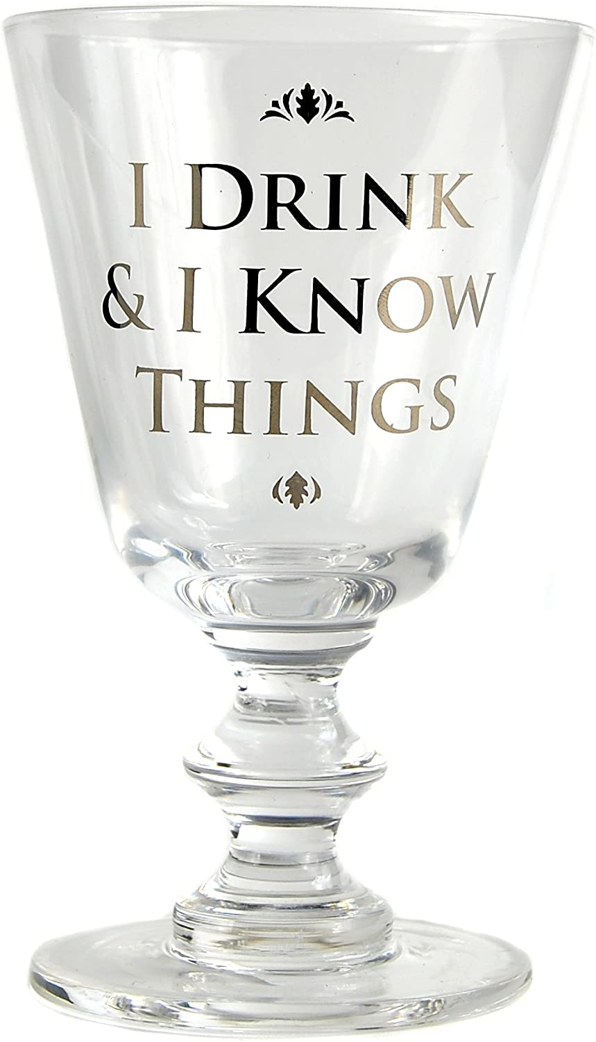 Glass Wine Boxed (275ml) - Game Of Thrones (Drink And Know)