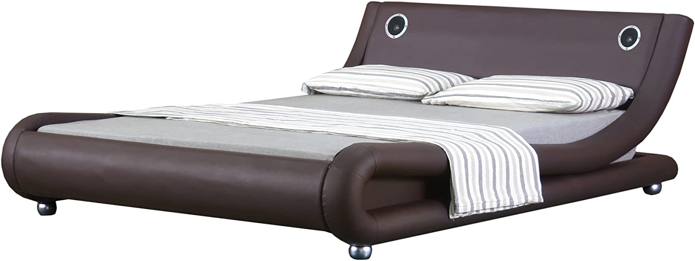 4 FT6 doble piel sintética, diseño italiano cama de Mallorca ...