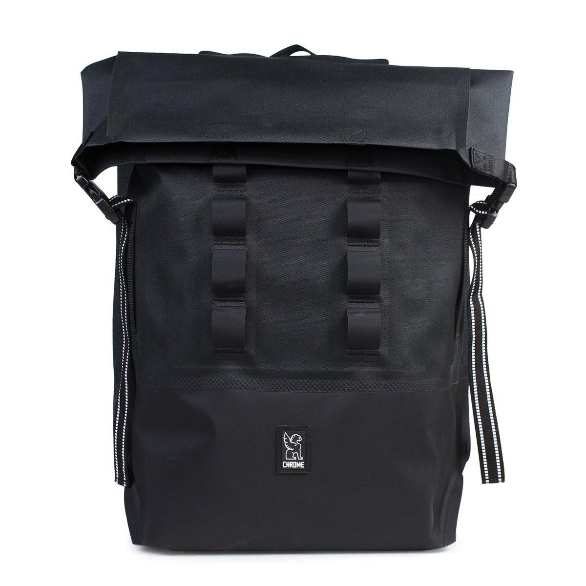 クローム バックパック 28L ユニセックス URBAN EX ROLLTOP BG-218 ブラック (並行輸入品) B071KBZWDV ブラック(BKBK)