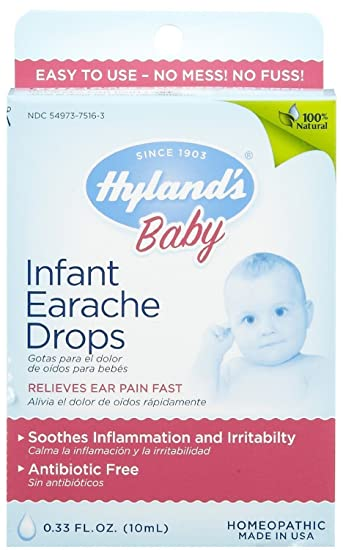 Amazon.com: Hyland gotas Ear Ache Infant: Health & Personal Care