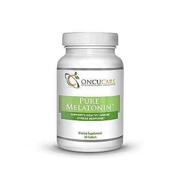 Amazon.com: Pure Melatonin by ONCUCARE® (Vitamin B-6 10 mg ...