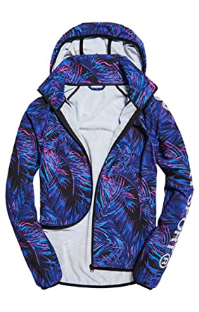 Superdry Damen Sd Sport Print Lightweight Jac Sweatjacke
