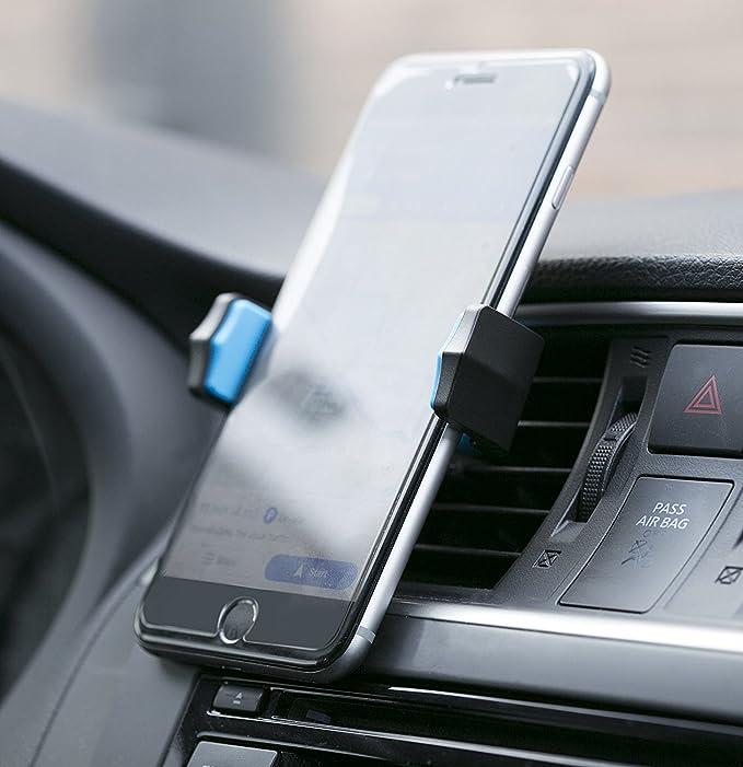 Teléfono celular soporte para coches, 360 ° de rotación, con escalabilidad, aire Vent