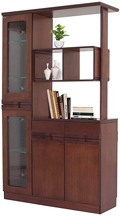 Hatil Beechwood Kitchen Cabinet Partition Brown Amazon In Furniture