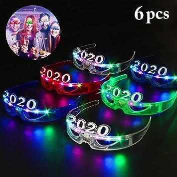 FunPa Gafas LED para Fiestas, Gafas LED Accesorios para ...