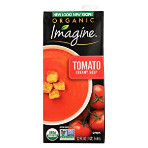 Organic Creamy Tomato Soup 32 Ounces (Case of 12)