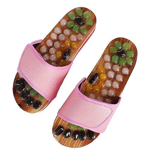 Massage Hausschuhe Sandale Fußmassagegerät Reflexzonenmassage Medizinische Akupr