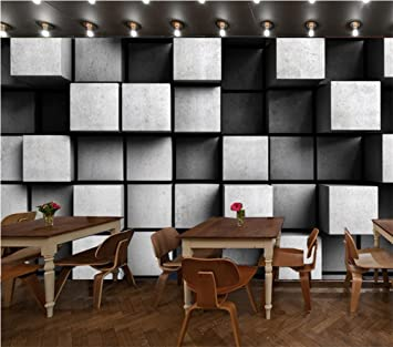 H&M Papel pintado Tejido no tejido de alta calidad Papel pintado 3D simple moderno Salón decorativo