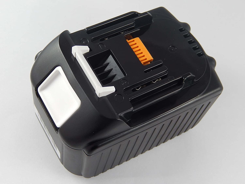 INTENSILO Li-Ion Batteria 6000mAh per utensile elettrico Makita DUB182, DUB182Z, FXBDF452RFE, GA402DRF, GA402DZ sostituisce BL1830, 194204-5.