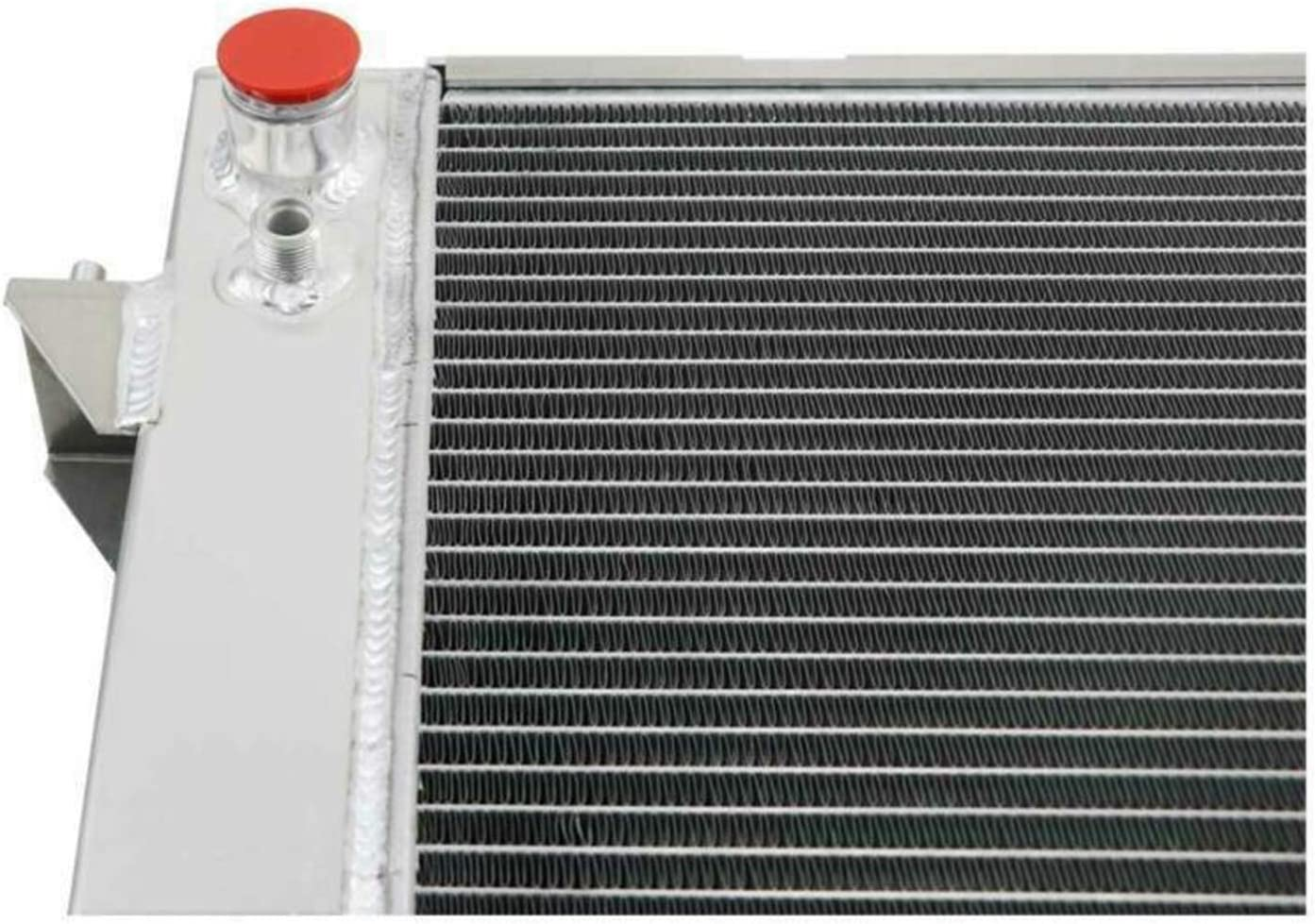 OzCoolingParts 86-98 Land Rover Radiator 3 Row Core Aluminum Radiator for 1986-1998 87 88 89 90 91 92 93 94 95 96 97 Land Rover Discovery Series//Range Rover Series 3.9L 4.0L V8 Engine