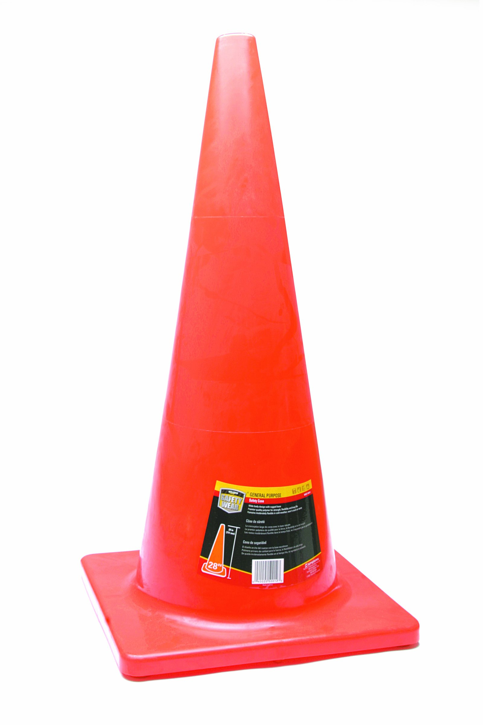 Honeywell 28'' Orange Traffic Cone (RWS-50012), Large