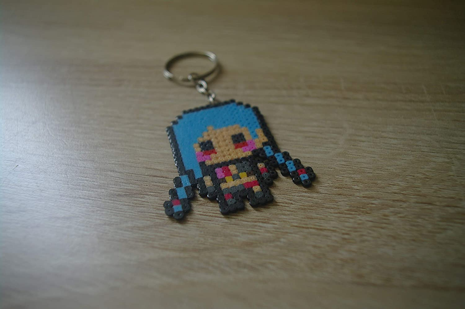 Llavero jinx - League of Legends/Hama beads - Pixel art ...