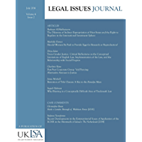 Legal Issues Journal 4(2)