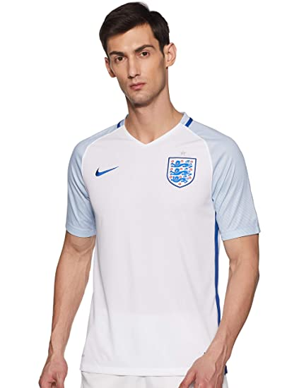 reputable site 39c18 fa358 Nike England Home Stadium Soccer Jersey (Small) White