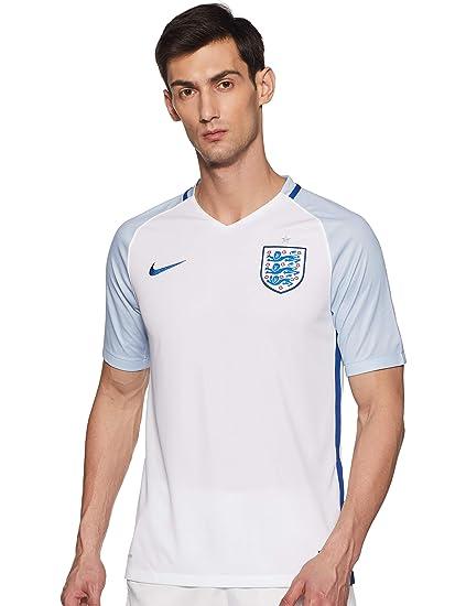 c40dec34b2e Amazon.com   Nike England Home Jersey UEFA Euro 2016   Sports   Outdoors
